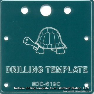 Tortoise Drilling Template