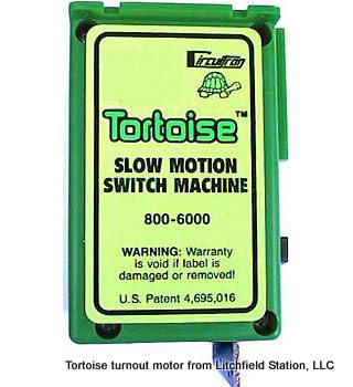 Tortoise - Switch Motor 800-6000 - Single Unit