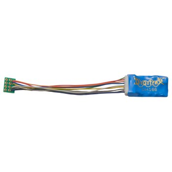 "1.5 Amp Premium HO Scale Wired Mobile Decoder with optimal connectors - Long (3"")"