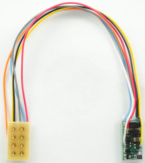 "1380 Z Decoder with 3.5"" harness to 8-pin UK plug - #TCS-Z2P-3.5""UK"