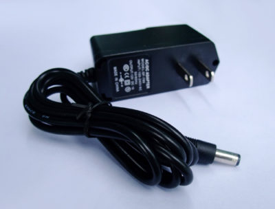 Power Supply 12V DC 1 amp, 5.5,2.1 end - #PS112-2.1