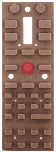 5240500 Keypad, 34 key for ProCab and PowerCab - #524-Keypad
