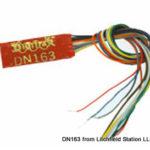 N DCC decoder premium by Digitrax DN163 series