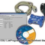 Computer Interface LokSound programmer USB or serial port - American
