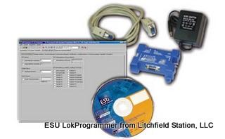 Computer Interface LokSound programmer USB or serial port - European