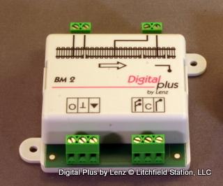 BM2 Lenz Asymmetrical DCC Block Stopping module - #428-22610