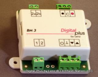 BM3 Lenz Asymmetrical DCC signaling module - #428-22620