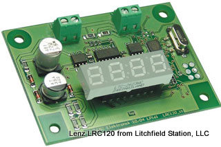 RailCom Local Address Display for DCC by Lenz LRC120 - #428-15120