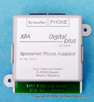 Lenz XpressNet DCC wireless phone adapter XPA