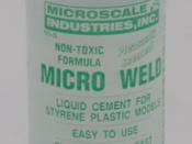 Micro Weld Plastic Cement - MI-6