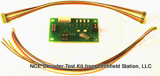 5240219 NCE DCC Decoder Tester Kit - #524-DTK