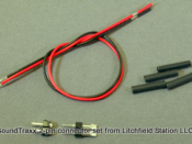 Connector set 2-pin - male & female 810012