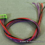 Harness for SoundTraxx DSX decoders - DSX steam 5-wire Chuff input 810092