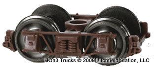 Freight Car Trucks Black
