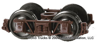 Freight Car Trucks Boxcar Red
