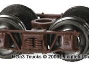 Freight Car Trucks MOW Grey