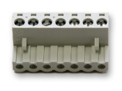 Digitrax power connector for DCC systems