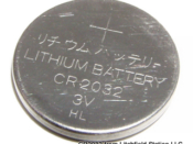 3V Lithium Coin Battery CR2032