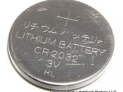 3V Lithium Coin Battery CR2032