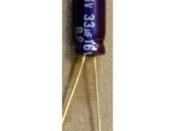 Capacitor Speaker Coupling - 33 uF 16 Volt BiPolar