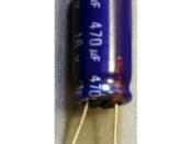 Capacitor Speaker Coupling - 470 uF 16 Volt BiPolar