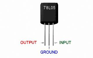 Integrated Circuit Voltage Regulator 5 Volt 100 mA