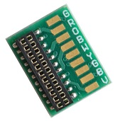 Circuit board with a NEM21 socket - #TCS-NEM 21