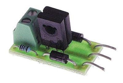 LA010 Fixed Lenz DCC decoder single stall motor adapter - #428-11010
