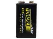 Powerex 9.6V 230mAh - #MH-R9.6V