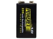 Powerex 9.6V 230mAh - #MH-R9.6V