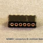 NMRA 6-pin (NEM651) Connectors - Female