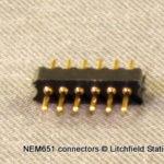 NMRA 6-pin (NEM651) Connectors - Male
