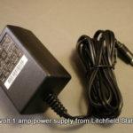 Power Supply 15 volt DC 1 amp 2.1 mm plug PS115