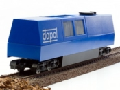 B800 W/ DCC & Sound OO/HO Gauge Dapol Motorised Track Cleaner