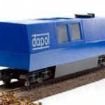 B800 W/ DCC OO/HO Gauge Dapol Motorised Track Cleaner