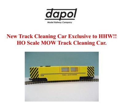 OO/HO Gauge Dapol Motorized Track Cleaner - #DAPB808
