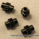 Gears HO for Athearn and Life-Like half axles machined Delrin by NWSL FOUR PACK