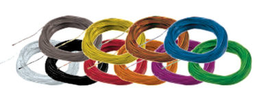 Super thin cable, 0.5mm diameter, AWG36 - Brown