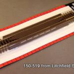 Track HO code 83 nickel silver rerailer - THREE PACK