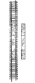 Track HO laying guide by Ribbonrail - HO gauge 15 inch radius