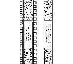Track HO laying guide by Ribbonrail - HOn3 gauge 10 inch straight