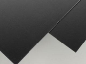 Styrene black sheets from Evergreen Scale Models - 0.04 inch thick - 2 sheets