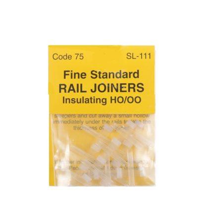 Code 75 Peco Rail Joiners - Nylon Insulated - 12 PACK