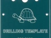 Tortoise Drilling Template