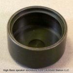 Speaker enclosure for 31 mm round HIGH BASS speaker