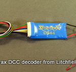 Fixed DCC decoder quad stall motors by Digitrax DS44