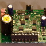Fixed DCC decoder dual all motors by Digitrax DS52