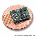 Z DCC decoder basic by Digitrax DZ123 series - NMRA 6 pin NEM651 integrated plug - DZ123MO