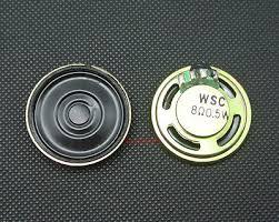 Speaker 26 mm diameter round 8 Ohms