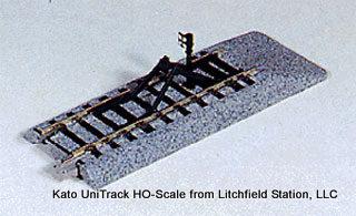 Track Kato Unitrack HO-scale bumper